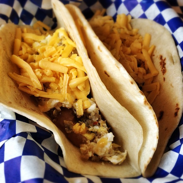 Country Sausage Tacos @ Fiesta Tacos