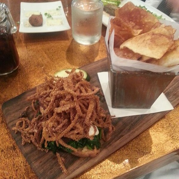 Open-face Steak Sandwich - Lincoln - DC, Washington, DC