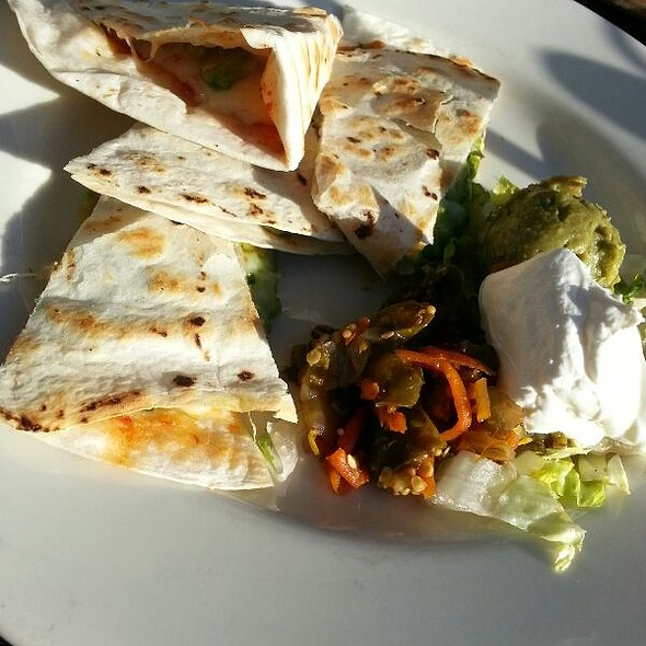 Sun-Dried Tomato Quesadilla