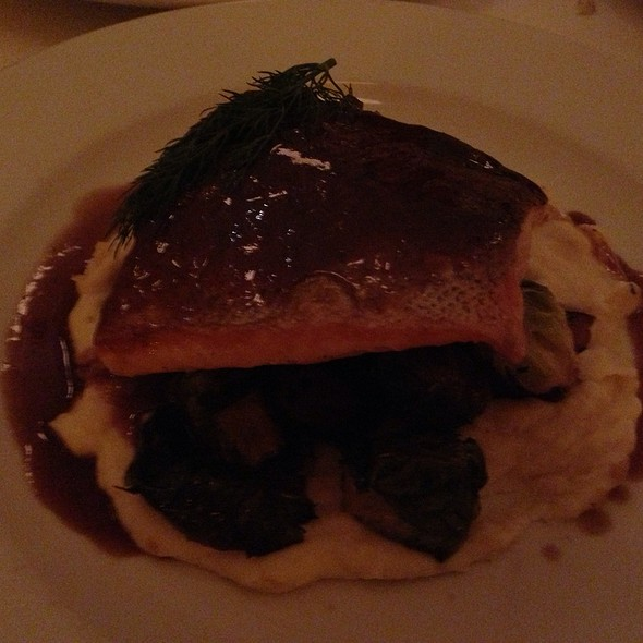 Grilled Salmon - Cassis American Brasserie, St. Petersburg, FL