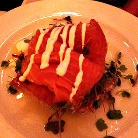 Smoked Salmon Appitizer - Cassis American Brasserie, St. Petersburg, FL