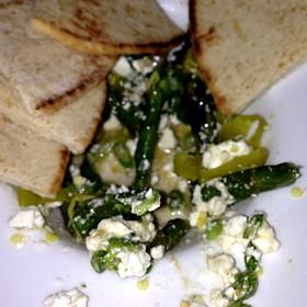 Asparagus And Feta Salad - Cassis American Brasserie, St. Petersburg, FL