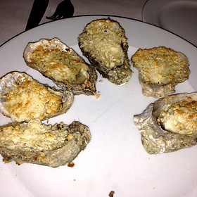 Parmesan Baked Oysters - Cassis American Brasserie, St. Petersburg, FL