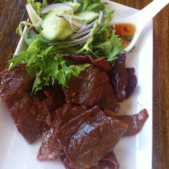Dried Beef @ Holybasil