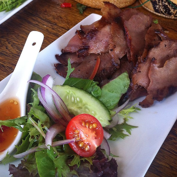 Grilled Ox tongue @ Holybasil