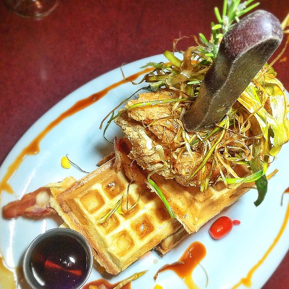 Sage Fried Chicken & Waffles