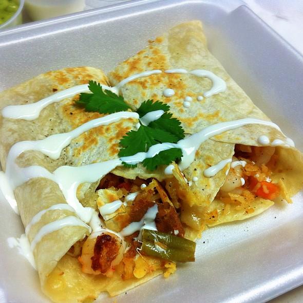 Shrimp Burritos @ Taqueria Deli Mi Pueblito