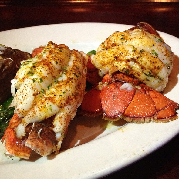 Twin Maine Lobster Tails @ Mitchell's Fish Market