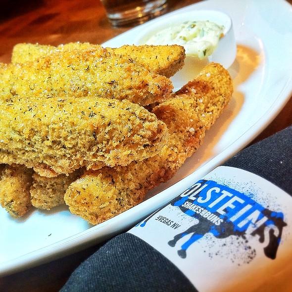 Fried Pickles - Holsteins - The Cosmopolitan of Las Vegas, Las Vegas, NV