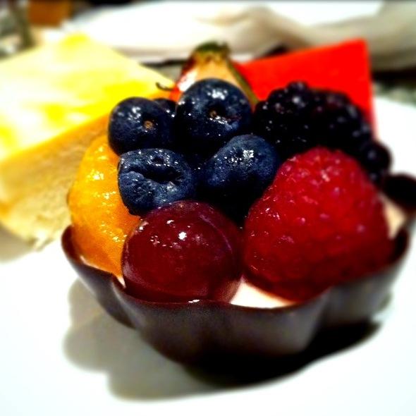 Fruit Tart @ Mandalay Bay Hotel: Bayside Buffet