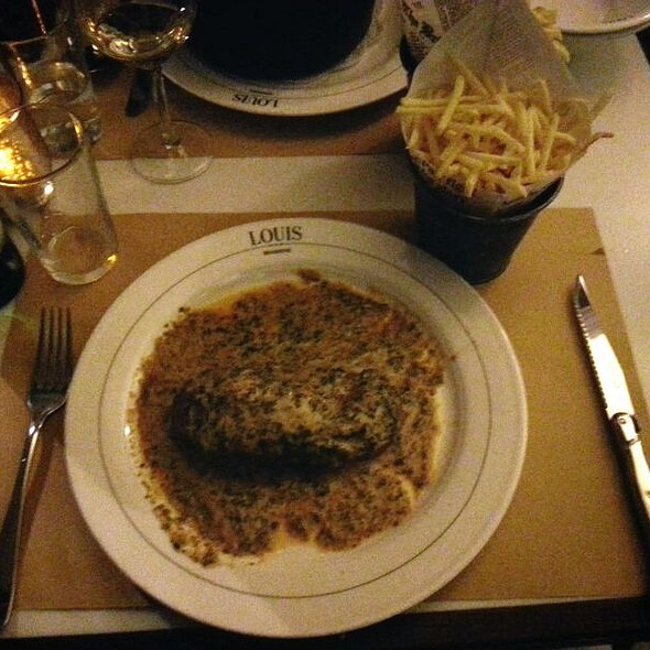Beef Filet Cafe De Paris With Pommes Allumettes
