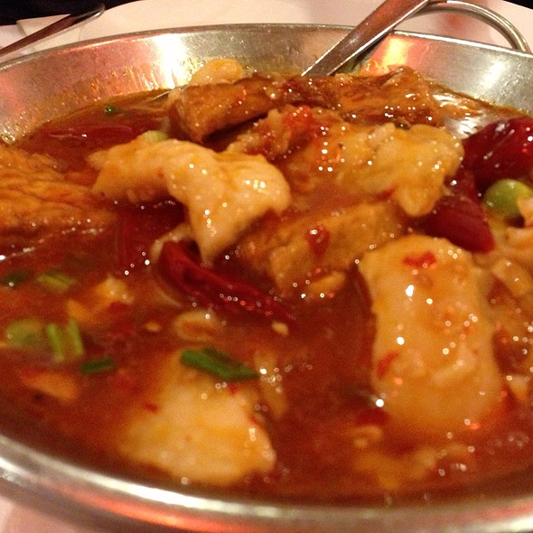 Braised fish filet and bean curd @ Szechuan Gourmet