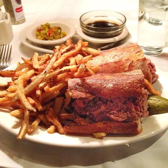 French Dip Sandwich - Hugo's Frog Bar & Chop House - Des Plaines, Des Plaines, IL
