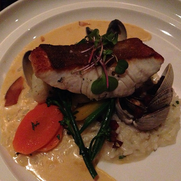 Ling Cod With Clam Risotto - Social - Ottawa, Ottawa, ON