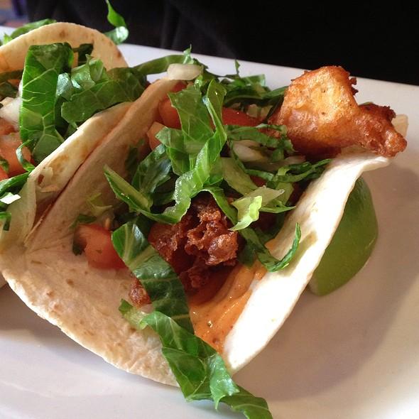 fish tacos @ No Way Jose Cafe