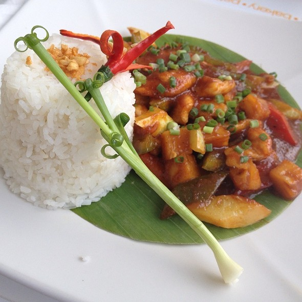 Honey Curry @ Blue Pumpkin Cafe Phnom Penh