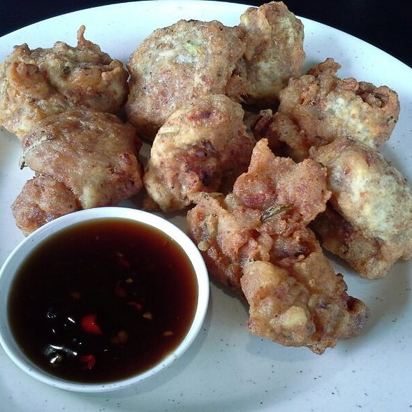 Corned Beef Fritters @ Ricebowl Victory