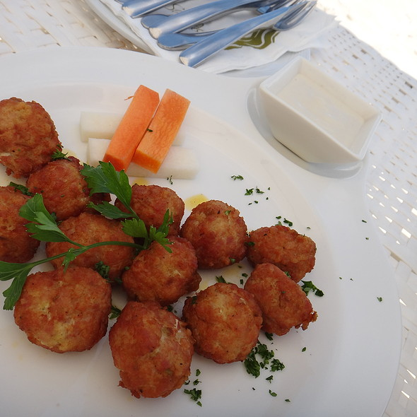 Buffalo Chicken Meatballs @ Discovery Shores