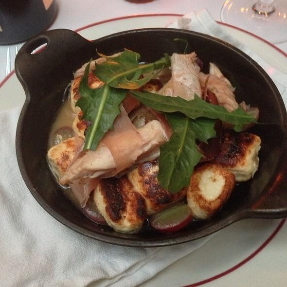 Ricotta Gnocchi With Rabbit - The Waverly Inn, New York, NY