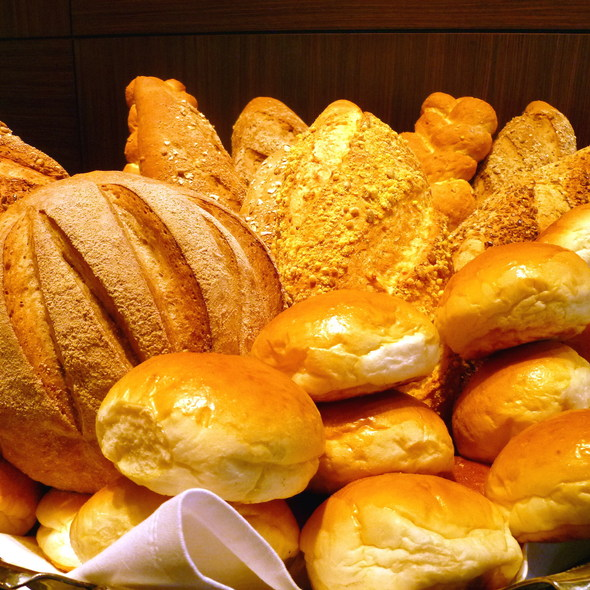 Various types of breads