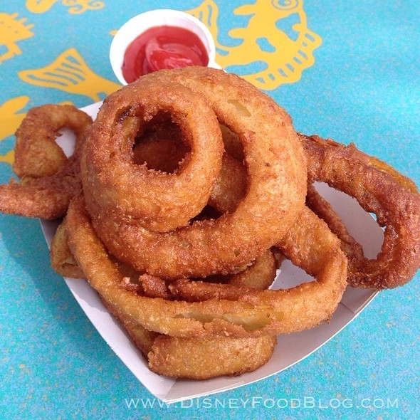 Onion Rings @ FlameTree Barbecue