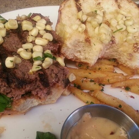 Bison Burger @ 5th And Wine