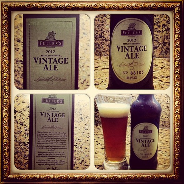 Fuller's Vintage Ale - Limited Edition - 2012 - No. 88105 @ @jrfergo's home