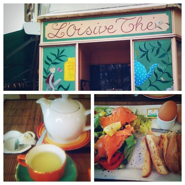 A Delightful Lunch (Re-posting) @ L'Oisive Thé