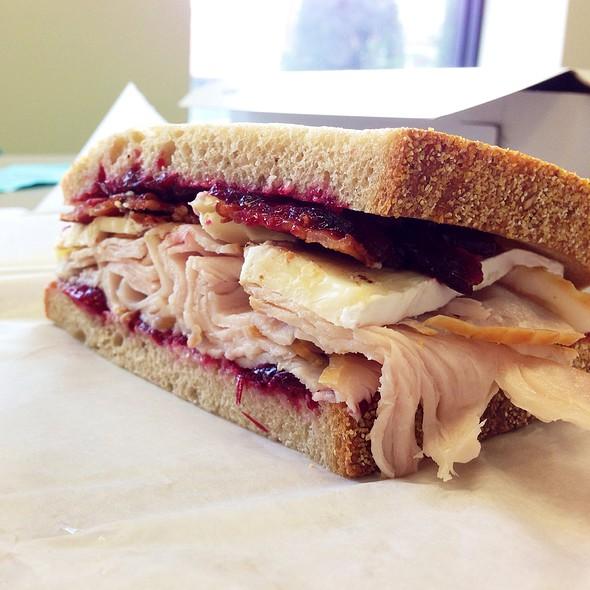 Cranberry Turkey Sandwich @ Cutting Board Deli