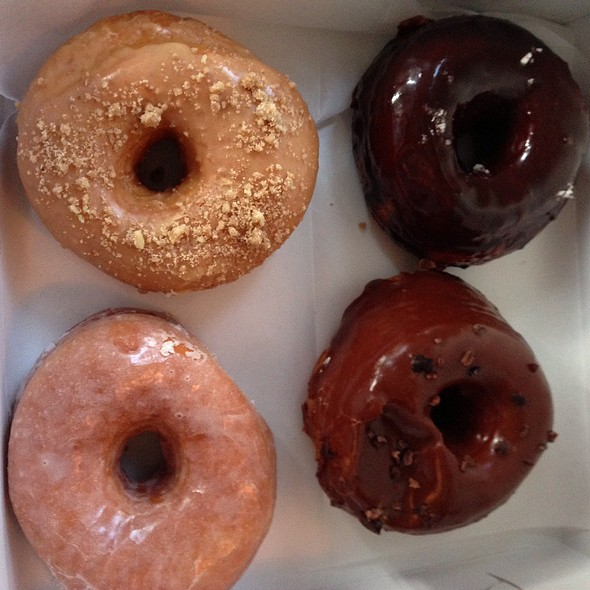 Assorted Donuts @ Dough