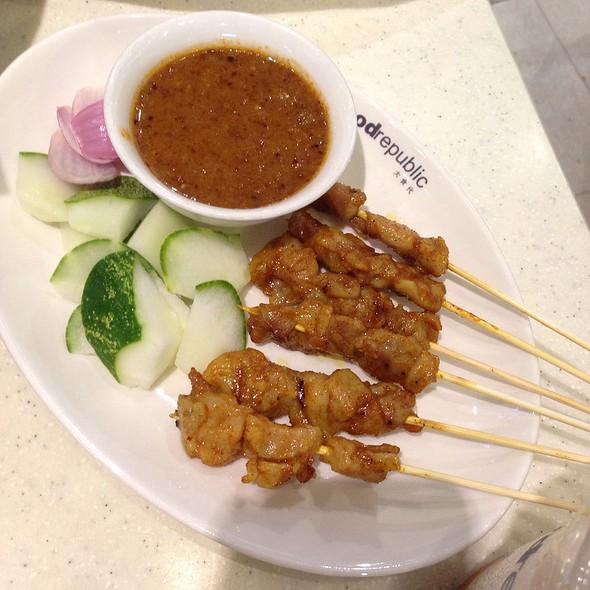 Satay Gai (Chicken Satay) @ Food Republic