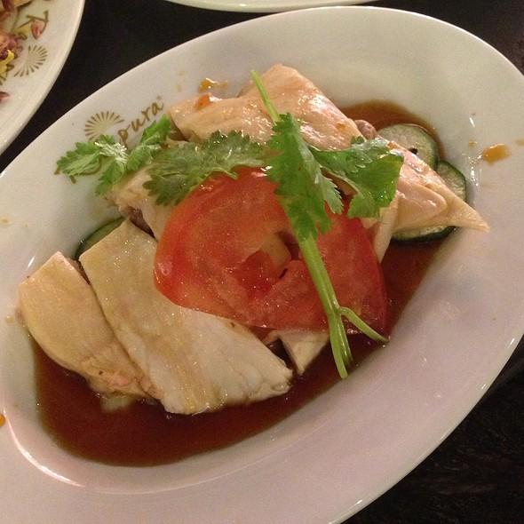 Hainanese Chicken Rice @ Rasapura Masters