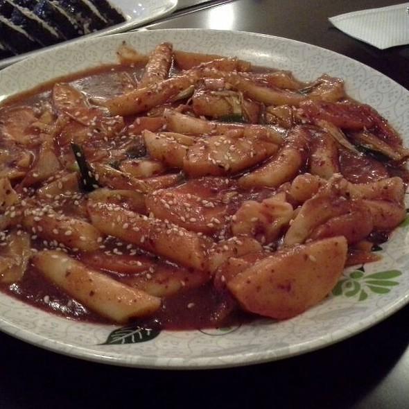 ddukbokgi @ YamYam Fried Chicken Korean Food