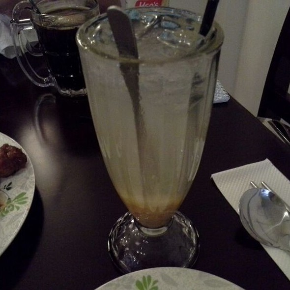 Citron Honey Tea @ YamYam Fried Chicken Korean Food