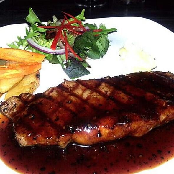 Wagyu Striploin Steak @ Bistronomy