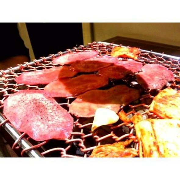 Grilled Beef Tongue @ Gahyo Korean Restaurant
