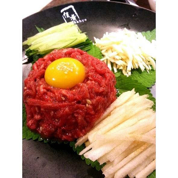 Wagyu Beef Yukke @ Gahyo Korean Restaurant