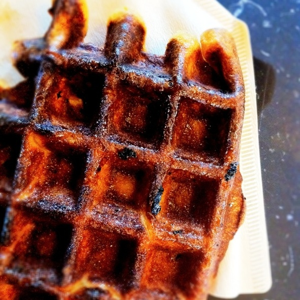 Belgian Waffle @ Blue Bottle Coffee