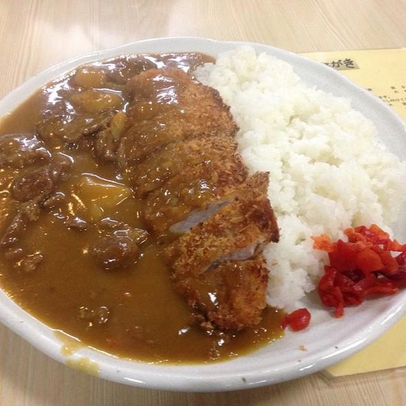 カツカレー @ スタミナラーメン さわき 川内店