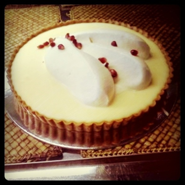 Lemon Cream Tart @ Tartine Bakery