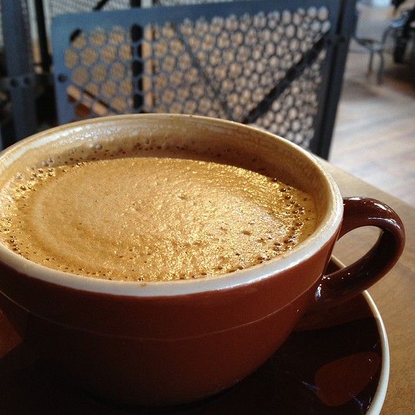 Latte @ Sightglass Coffee