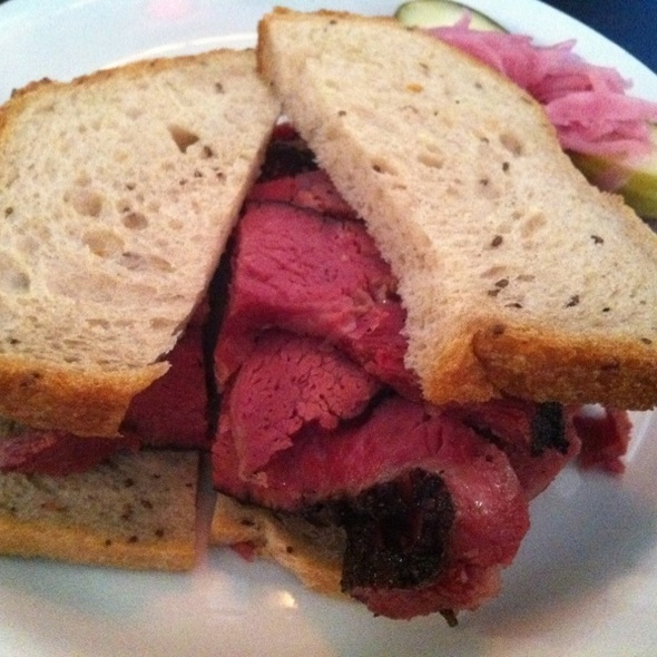 Pastrami Sandwich @ The REFUGE