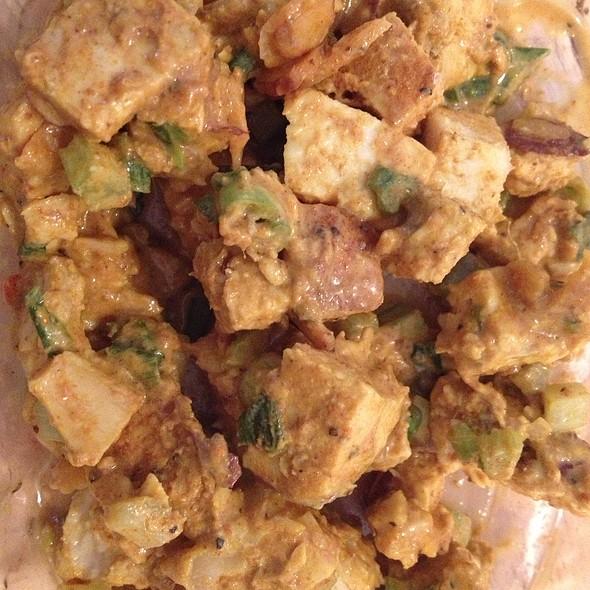 Curry Mango Chicken Salad
