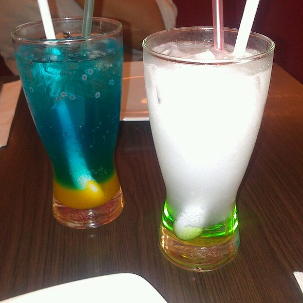 Blue Ocean & Italian Green Soda