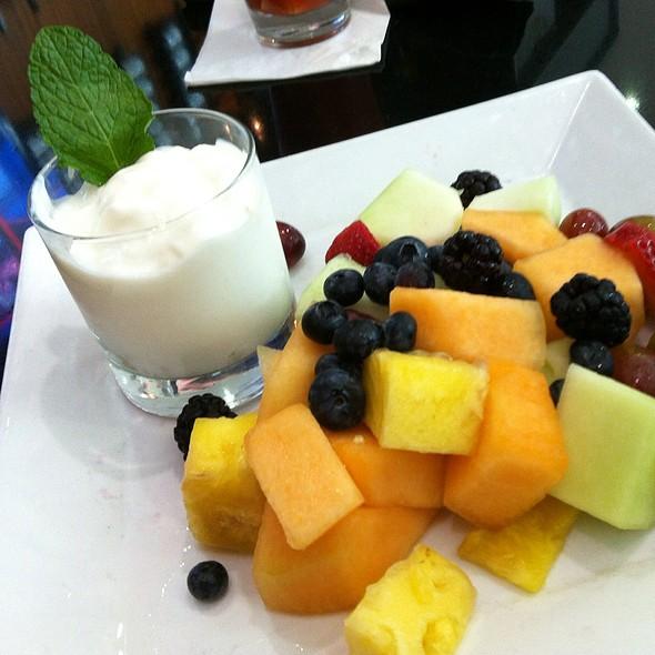 Fruit Salad And Yogurt Parfait