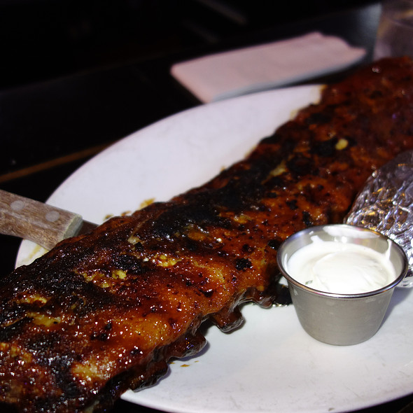 BBQ Baby Back Ribs - Fireplace Inn, Chicago, IL