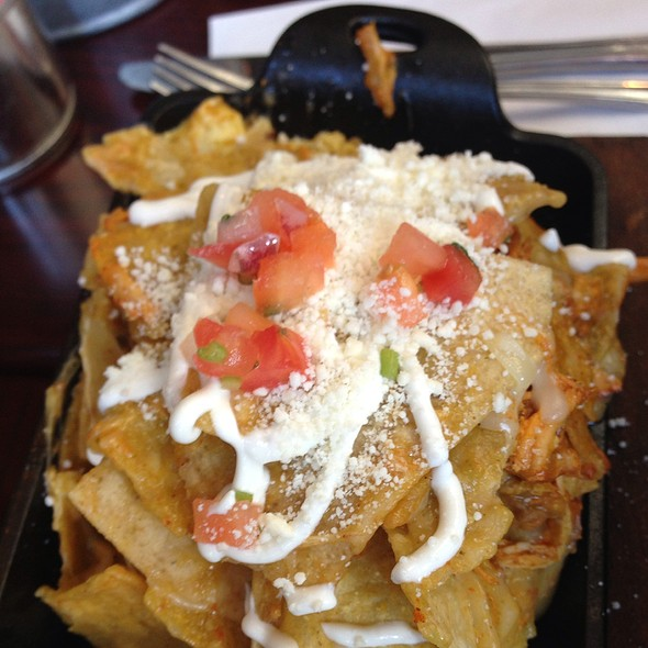 Chicken Chilaquiles - El Camion, New York, NY