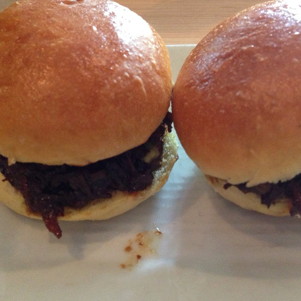 Brisket Sliders - Cochon, New Orleans, LA