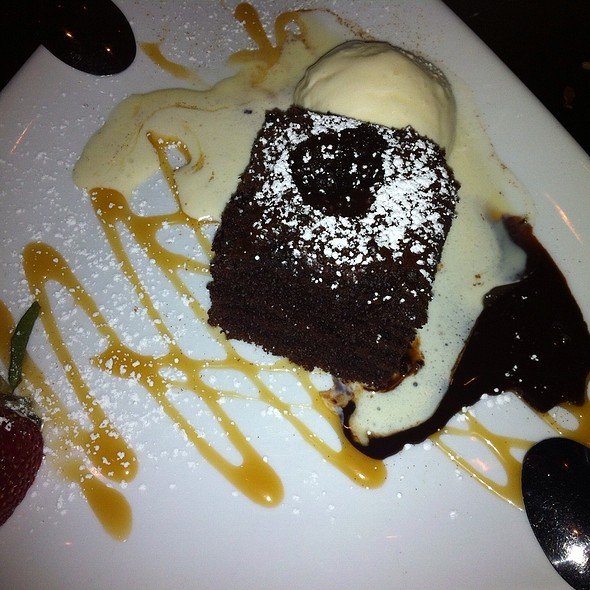 Chocolate Lava Cake - May St. Cafe, Chicago, IL