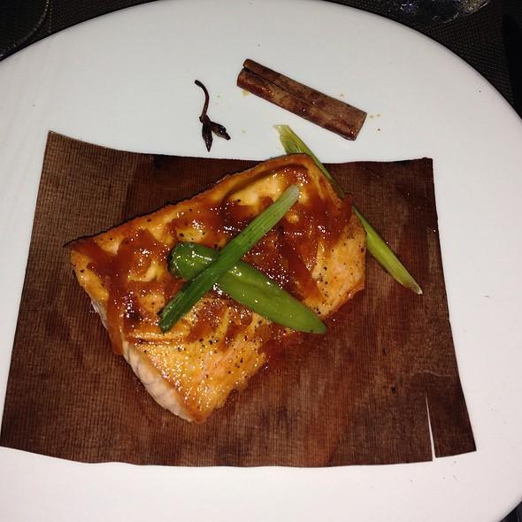 Cedar Planked Sockeye Salmon @ Meat Market